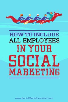 Your companys social media reach can grow dramatically if all of your employees are helping to spread your message.
