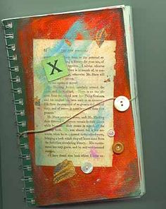 "Online article: ""How I started my art journals"" source page  http://www.artistsjournals.com/instruction/journaling-erin.htm"
