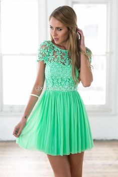 Splended Angel Dress (Green) Super Cute Dresses 022d9b020