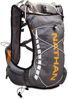 A hydration pack designed specifically for runners—Nathan VaporWrap Hydration Vest.