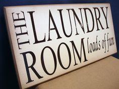 The Laundry Room - Loads of Fun. $18.00, via Etsy.