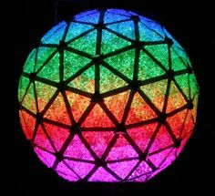 """""""New Year's Ball is Green…and Blue, and Red, and Yellow, and Rainbow Surprise » The 2007 New Year's Eve Ball"""""""