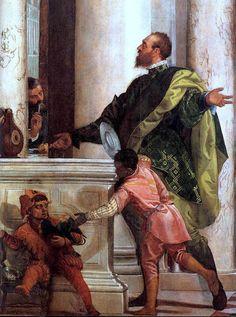 Verones. Ultima cena. Cena en casa de Leví. 1573. Iglesia de Santi Giovanni e Paolo