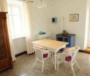 #Ferienhaus Villa Mentha in #Garica auf #Krk #Kvarner #Kroatien: Küche mit Esstisch