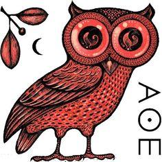 athena owl - olive branch ineyes