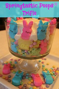 Springtastic #Peeps Trifle