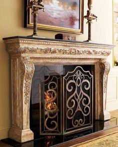 Fireplace Adoravle Christmas Mantel Decorating Ideas With Snow