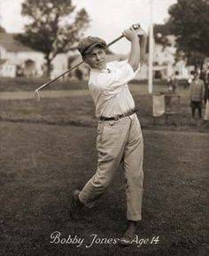 Young Bobby Jones
