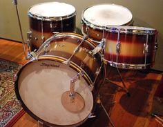 Vintage Slingerland Drum Kit with Duco Paint