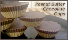 Double Peanut Butter Chocolate Cups - So Healthy You Can Eat Them for Breakfast! -