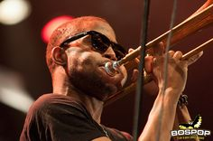 Trombone Shorty & Orleans Avenue @ Bospop, Weert, Netherlands, july 7 2012 July 7, Trombone, Concerts, Netherlands, Movies, Movie Posters, The Nederlands, The Netherlands, Film Poster
