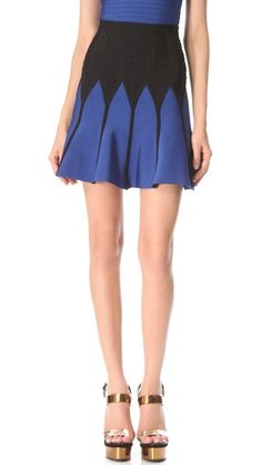 Herve Leger Kerra Skirt | SHOPBOP Obsessed with these Herve Leger skirts!!! I own two already. This might be número 3