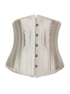 Burvogue Fashion Satin 24 Steel Boned Waist Training Underbust Corset