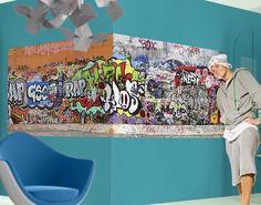 #Selbstklebendes #Wandbild Graffiti #Graffiti #sprayen #streetlife #skater #yolo