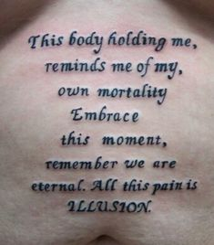 Tool Parabola lyrics quotes band music this body just holding me for now - i am eternal.