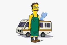 Breaking bad characters illustrated like the simpsons http://trustmedesigner.com/2013/10/12/breaking-bad-characters-illustrated-like-the-simpsons/