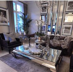Mirrored living room❤