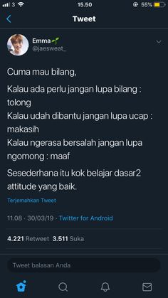 Quotes Lucu, Quotes Galau, Jokes Quotes, Funny Quotes, Tweet Quotes, Twitter Quotes, Mood Quotes, Life Quotes, Reminder Quotes