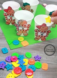 Gingerbread Man Printables and Centers - Shape Sorting We hope you loved these preschool cooking theme activities as much as we do. You can find them to purchase below. Preschool Christmas Activities, Gingerbread Man Activities, Gingerbread Crafts, Preschool Themes, Preschool Activities, Preschool Cooking, Gingerbread Men, Winter Activities, Gingerbread Cookies