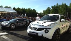Nissan+Juke+R+Twin+Turbo | Video: Bugatti Veyron vs 700hp Nissan Juke by Shpilli Villi