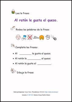 High School Spanish, Spanish Teacher, Spanish Classroom, Spanish Worksheets, Speech Therapy Activities, First Grade, Literacy, Language, Teaching