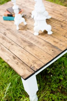 Shabby Chic Coffee Table FREE SHIPPING by ThePolishedPear on Etsy, $295.00