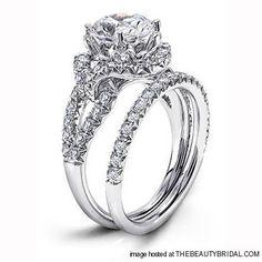 So adorable!! Unique Modern Engagement Rings (Part 2)