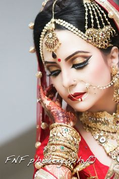 beautiful Bangladeshi bride...for more check out the photographer's page on FB--- FNF photography