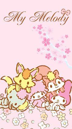 My Melody Wallpaper, Sanrio Wallpaper, Kawaii Wallpaper, Little Twin Stars, Little Star, My Melody Sanrio, Kawaii Cute, Kawaii Stuff, Cute Disney Drawings