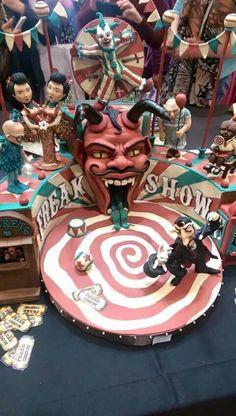 American Horror Freak Show Cake = Amazing