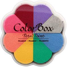 Colorbox Pigment Petal Point Option Pad 8 couleurs-enchantement