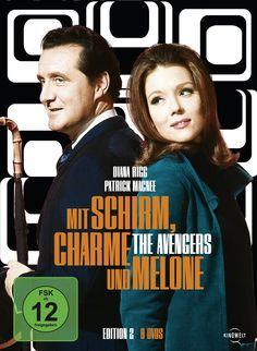 Mit Schirm, Charme und Melone - Edition 2 [9 DVDs]: Amazon.de: Patrick Macnee, Diana Rigg, Sydney Newman: DVD & Blu-ray