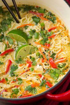 Thai Chicken Ramen Really nice recipes. Every hour. Show me what  Mein Blog: Alles rund um die Themen Genuss & Geschmack  Kochen Backen Braten Vorspeisen Hauptgerichte und Desserts