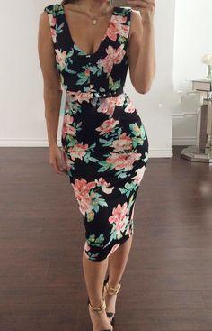 Jaide Clothing floral dress