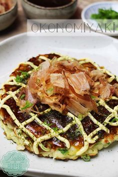 Hi guys! Today I'm going to share my Okonomiyaki recipe!  YAY~!  Okonomiyaki is one of my favorite savory pancake, hands down! 'Okonomi' means 'what you like/want' and 'Yaki' means 'grill/broil'. So it pretty much means Grilled what you like/grilled as you like it.  There are few different styles of Okonomiyaki depending on region. Okonomiyaki's...Read More »
