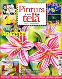 Resultado de imagen para revistas para pintar en tela