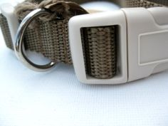 Economy pet collar  3/4 width  3 sizes available by stitchestones, $8.00