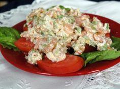 Savory Summer Seafood Salad