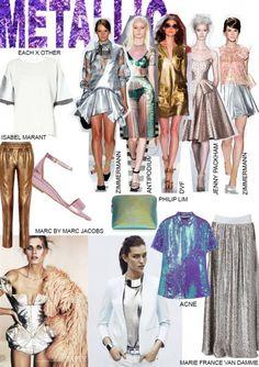 How To Wear- Metallic. Words by Rosie Feenstra. www.kit-magazine.com