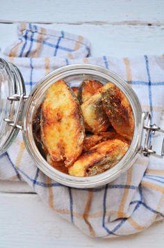 Kuchnia w zieleni: Leszcz w marynacie octowej Shrimp, Polish Food, Meat, Vegetables, Canning, Vegetable Recipes, Veggies