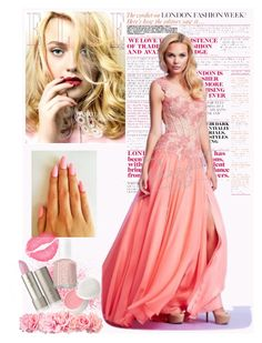 """""""Prom 2015 Inspiration"""" by edressme ❤ liked on Polyvore featuring Christian Dior, Essie, Mac Duggal, women's clothing, women, female, woman, misses and juniors"""