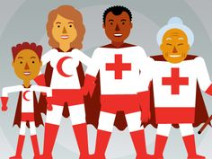 The International Red Cross provides disaster response training on all areas of disaster response.