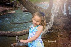 Little Girl Photoshoot - Denver Children's Photographer - Erin Jachimiak Photography