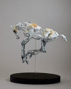 """""""Suspending Gravity II"""" - When a foal leaps into the air, for a few moments, they are able to defy nature."""