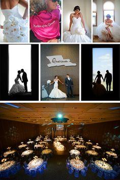 Toronto wedding studio - glamorous photo shoot inside the Paramount event centre www.quarum.com