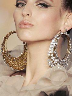 35 Best Big Earrings! images | Big earrings, Earrings, Ear ...