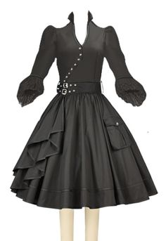 a574a544dca2b0 Steampunk Victorian Pirate dress by Chic Star Vintage Dior