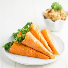 Carrot & Raisin Chicken Salad Wraps. A fun addition to your Easter brunch table. With step-by-step directions on how to make!