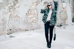 Camouflage shirt // About-a-girl.com
