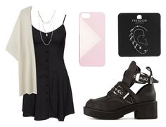 """""""Sin título #948"""" by immoverthemoon on Polyvore featuring moda, NLY Trend, Jeffrey Campbell, Topshop, J.Crew, Wet Seal y plus size clothing"""